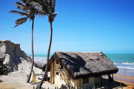 Maison de plage exclusive près de Canoa Quebrada
