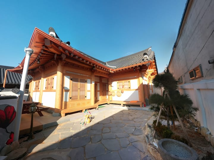 JANGSOO, traditional house in hanok Village