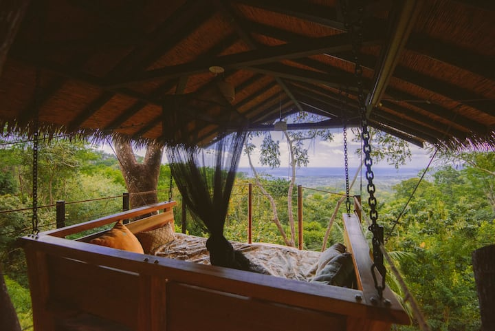 Ocean view treehouse