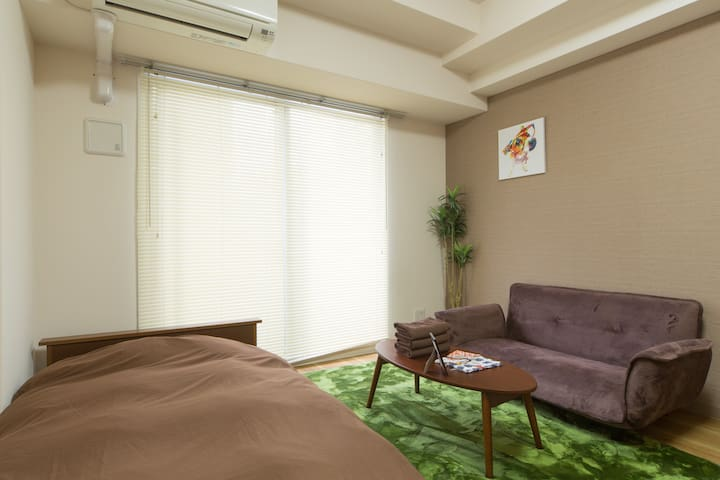 1min to Osaka station free wifi WO - Ōsaka-shi - Appartement
