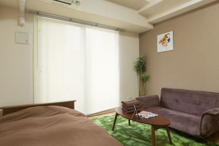 1min to Osaka station free wifi WO - Appartement