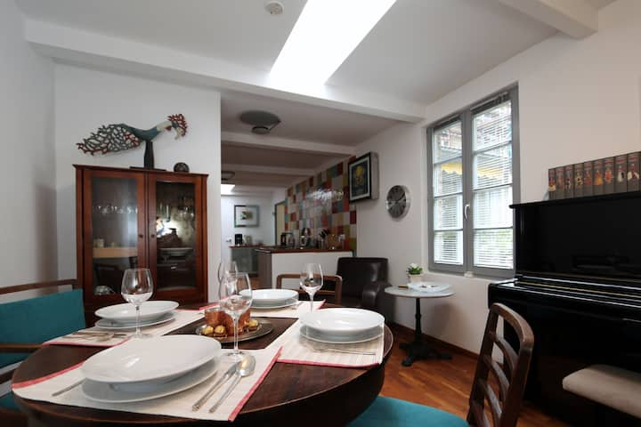 Exclusive city-garden flat - 4 km to the 'Dom'