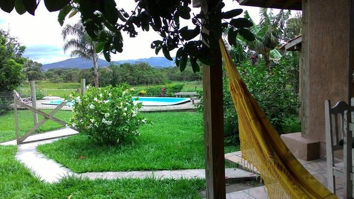 Cabana com localização privilegiada no Rosa