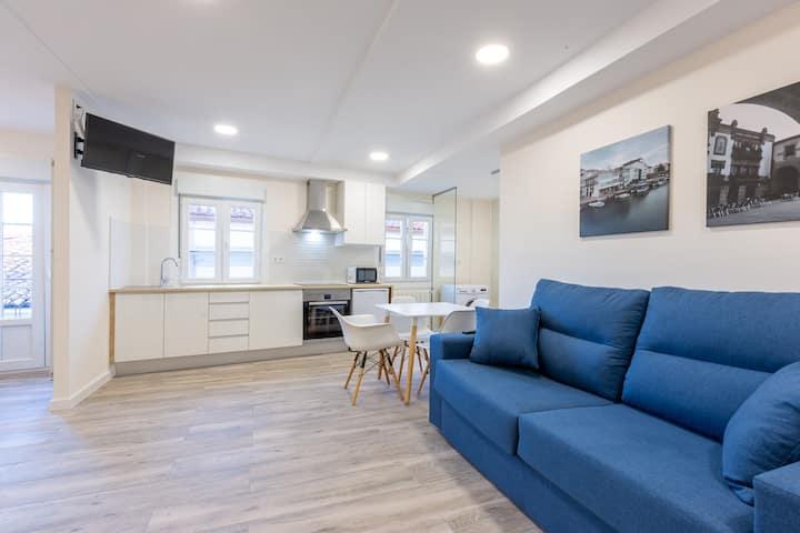 Apartamento-balcón-vistas  Casc. Hist. De Betanzos