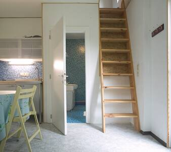 1-person studio in wooden house, monthly rent - Genappe - Lakás