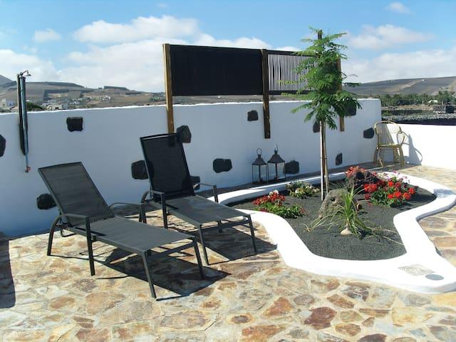 Rural Appt- Vistas volcán & terraza