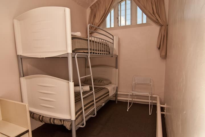 Jailhouse Accommodation  PRIVATE ROOM for 1 or 2