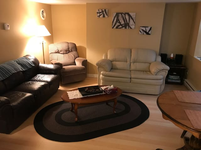 1  Bed Room Apt with off street parking