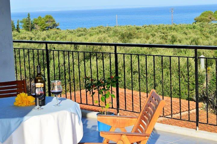 Sea View Brigitta Apartment - Vasilikos - อพาร์ทเมนท์