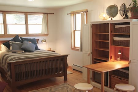 Modern & Stylish Guest Room in the VT Countryside