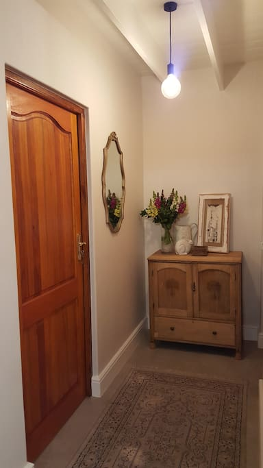 Entrance to second bedroom