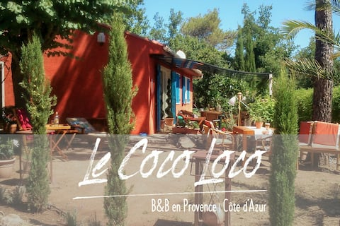 BnB guest rooms in Provence / Cote d'Azur