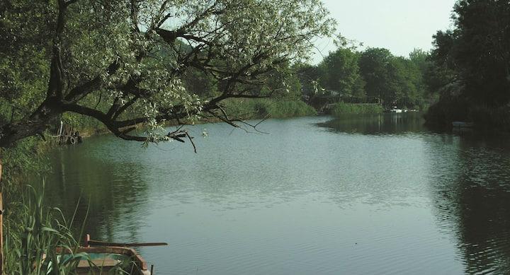 Ağva Nehri kıyısında Raindance Bungalow Suite