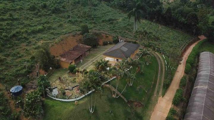 Casa de campo aconchegante em Domingos Martins