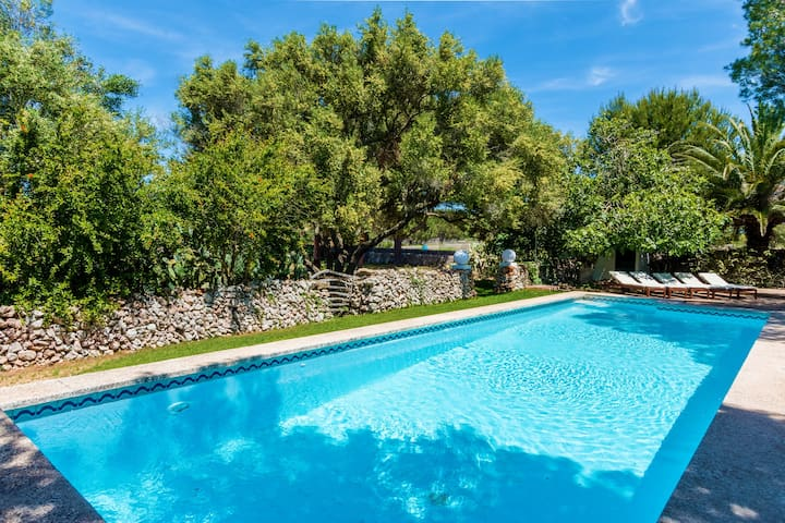 Finca Eleonora - big pool, privat, quiet, Sonos