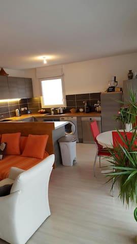 Chambres dans bel appartement - Annemasse - Flat