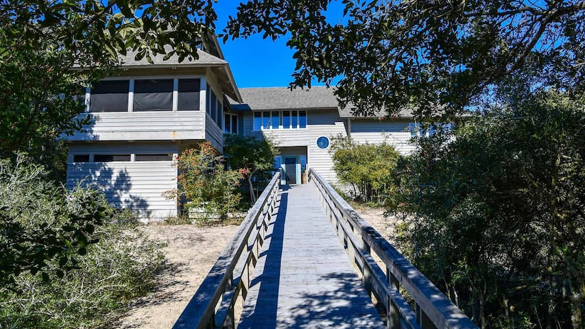 Second Row Home Inspired by the Nautilus is Just Steps to the Ocean  The Nautilus