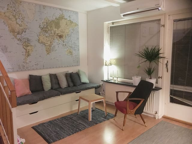 Modern & spacious town house with sunny garden - Stockholm - Haus