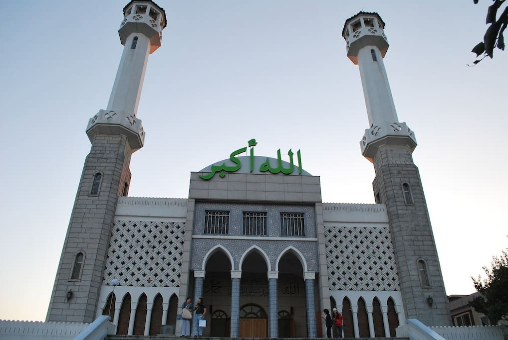 [Neighborhood] Mosque, Itaewon. It takes 1 minute from my house. Very convenient and accessible.