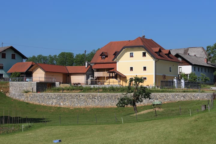 Hiša nasprot' sonca (House of the rising sun) - Črnomelj - Bed & Breakfast