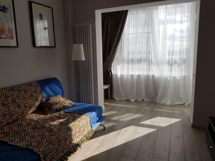 Удобная и светлая квартира в Отраде