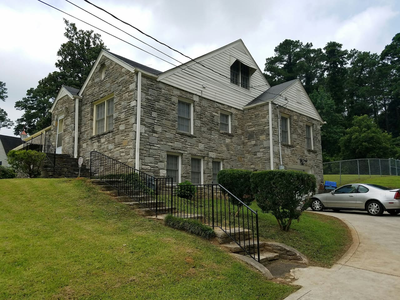 Historic Stone Nostalgic Home Nestled with Modern Comforts