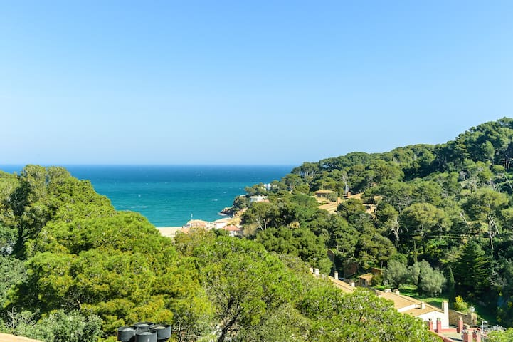 Dúplex con vista al mar en Begur Sa Riera, SR-32 - Sa Riera - Huoneisto