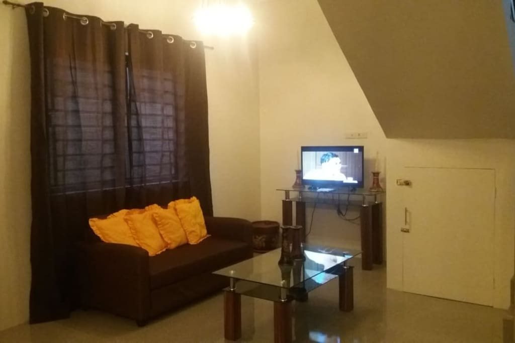 Living Room with Sofa/Bed