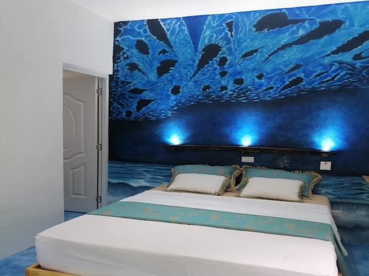 House Jardin Del Caribe (Queen Room - Ezequiel)