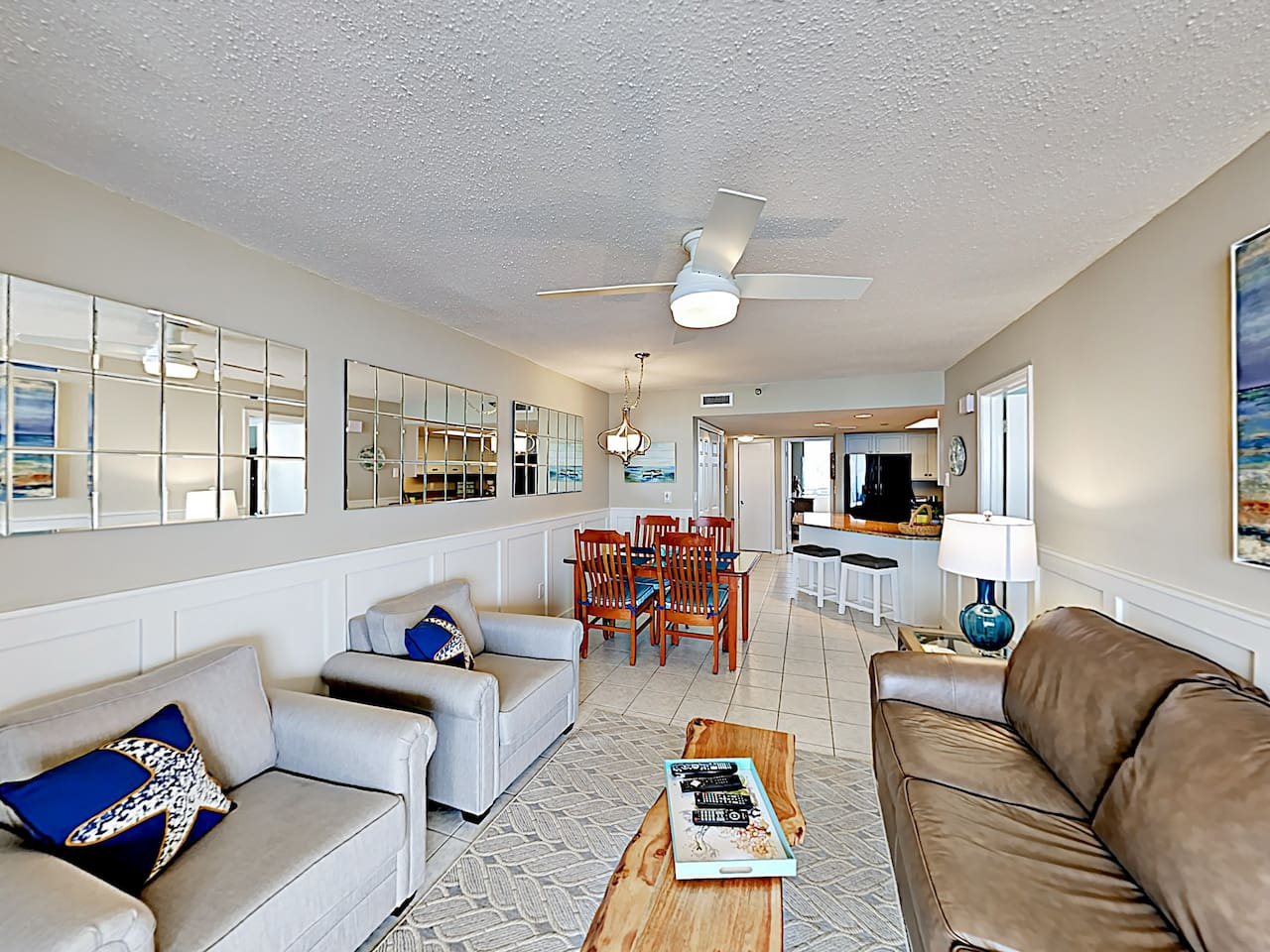 """Welcome to """"Happy Blues at Nautilus""""! This 2nd-floor condo is professionally managed by TurnKey Vacation Rentals."""