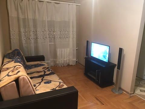 Уютная 1-комнатная квартира в самом центре города