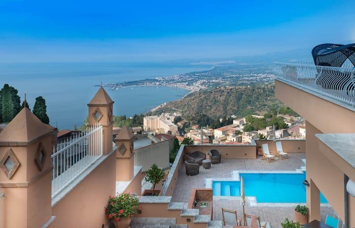 Villa Le Terrazze Junior Suite vista mare