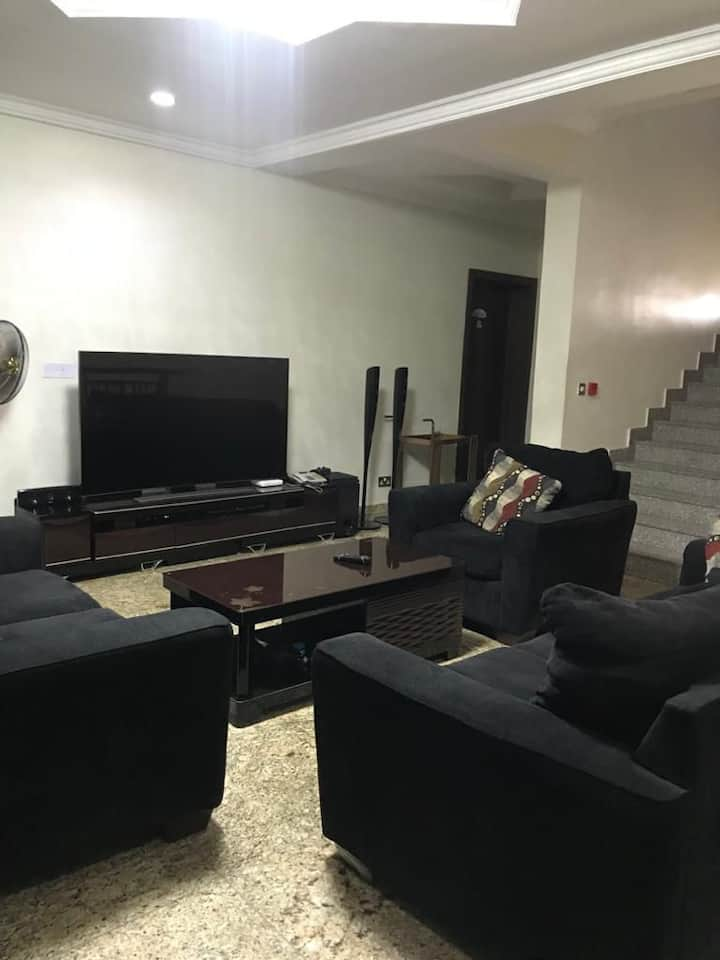 Exquisite home away from home at Lekki