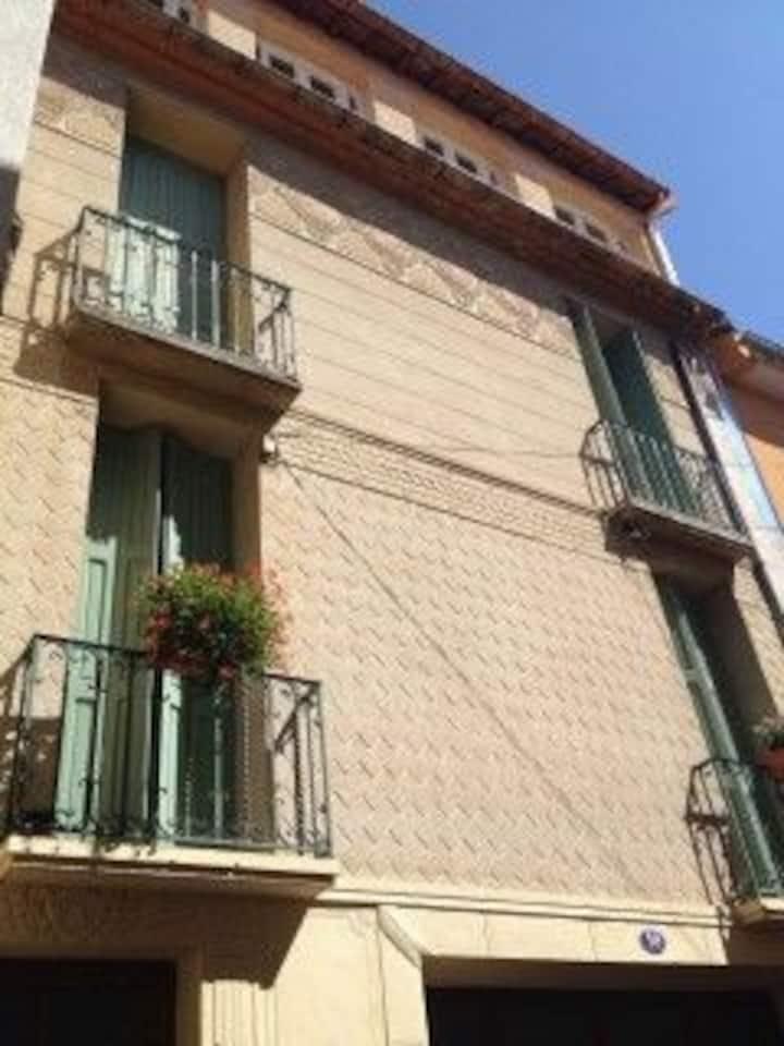 Dejlig lejlighed med terrasse