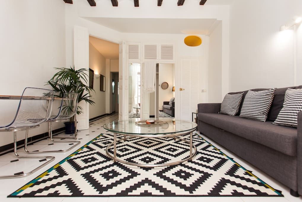 Magnificent design apartment next to the cathedral for Design wohnung palma