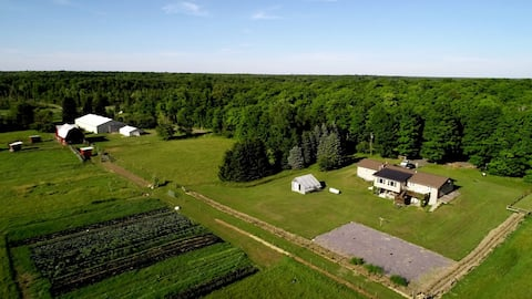 Relaxing stay away from the city at Tonella Farms