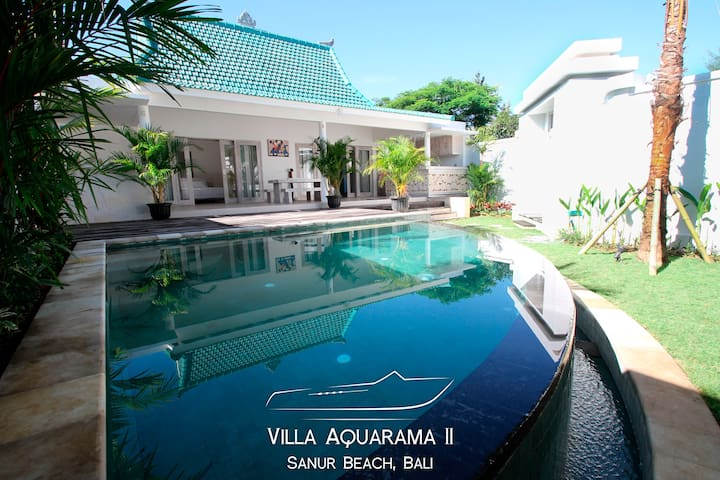 Lovely Villa Aquarama 2. Two bdrs - Sanur.