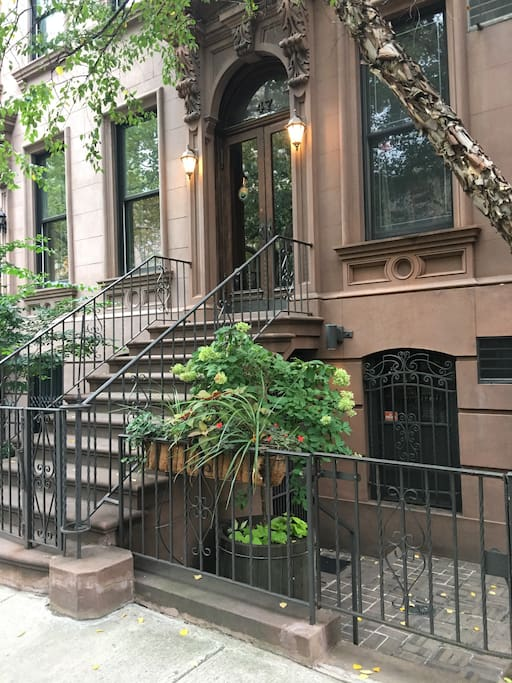 "Ever dream of living in a historic NY brownstone? Here is your chance to call a piece of history ""home""!"
