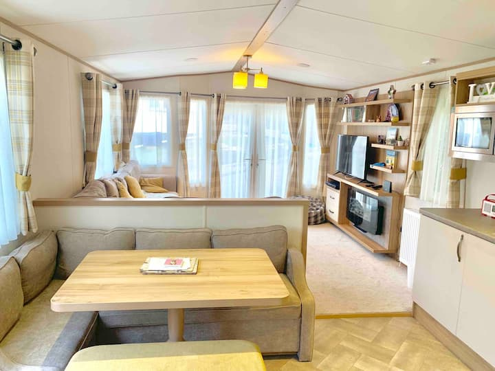 Luxury Holiday Lodge at Beauport Park, Hastings.