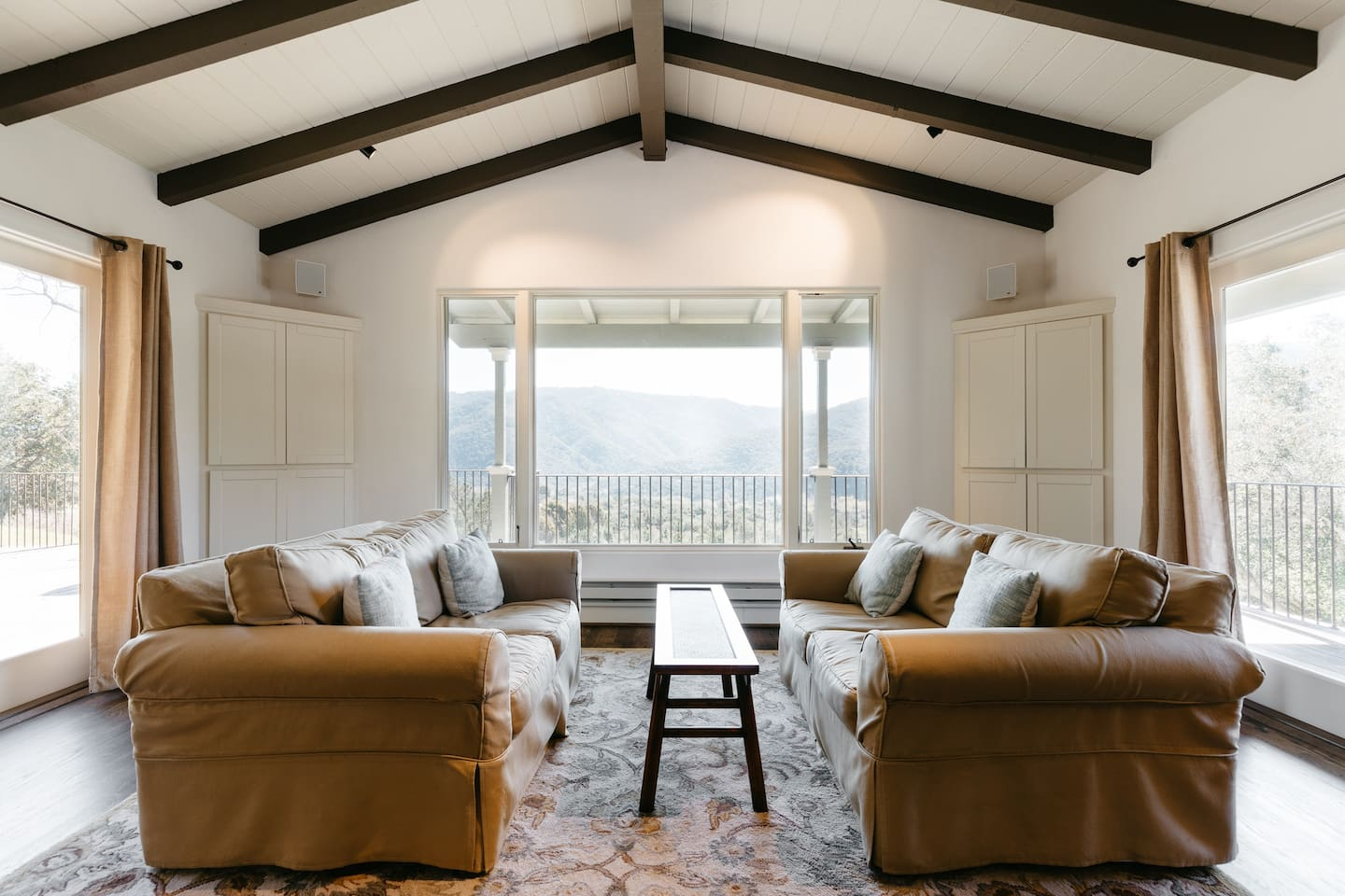 Living Room w/ Views of the Valley