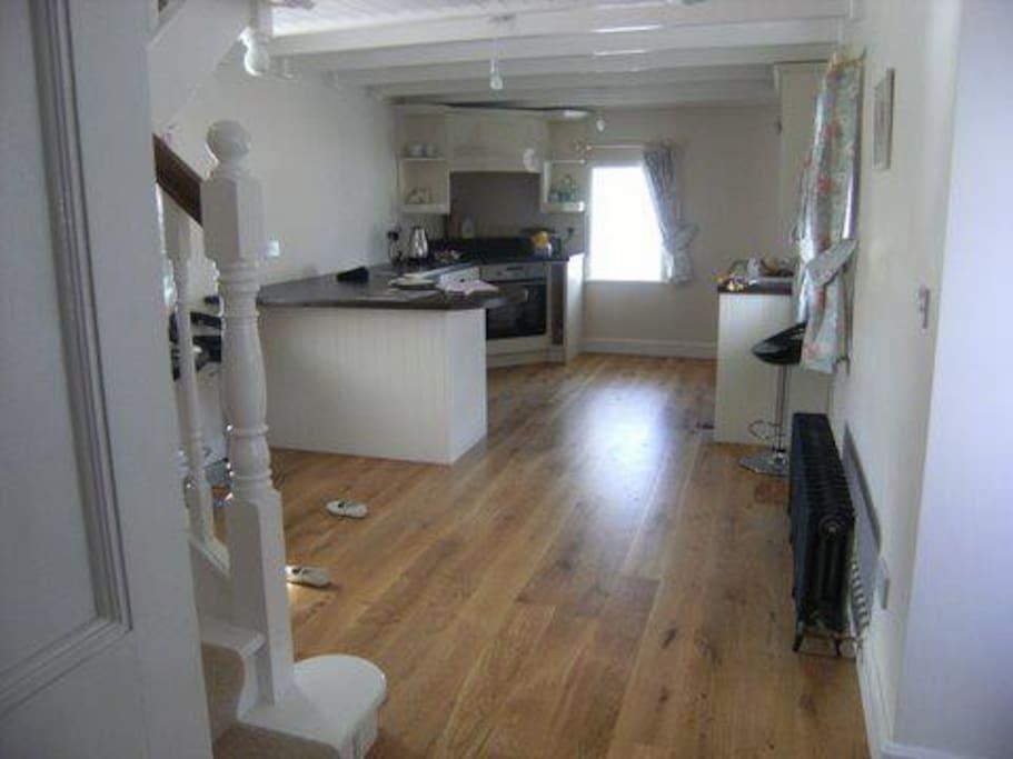 Remodelled Kitchen Interior