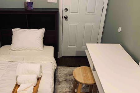 Walk to Hopkins • Bedroom, En-Suite Bath + Parking