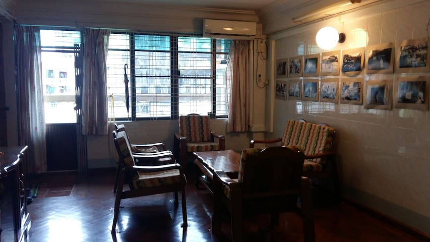 An authentic & comfortable way to feel/see Yangon!