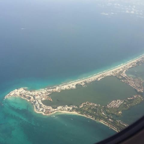 cancun urban dawntown