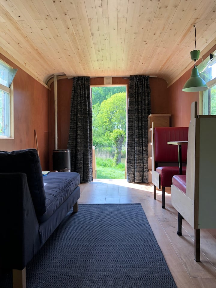 Pipowagen Camping Dijk&Meer incl. privé sanitair