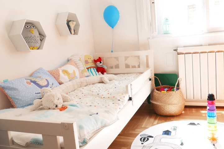 Family-friendly apartment in the heart of Budapest