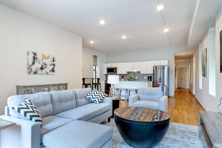 Central Chicago Suite (#1): Sleeps 9! w/ Roofpatio