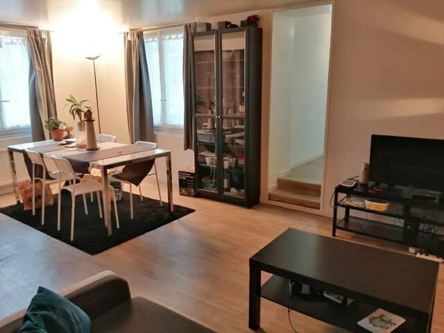 Grand Studio cosy en centre ville de Louviers