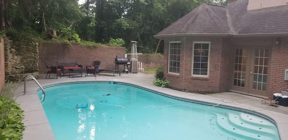 Pool Home in the Smokies In Gatlinburg