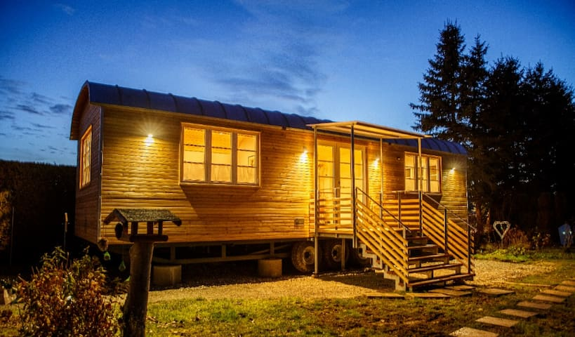 """Land of Green Naturresort - Tiny House """"Hede"""""""